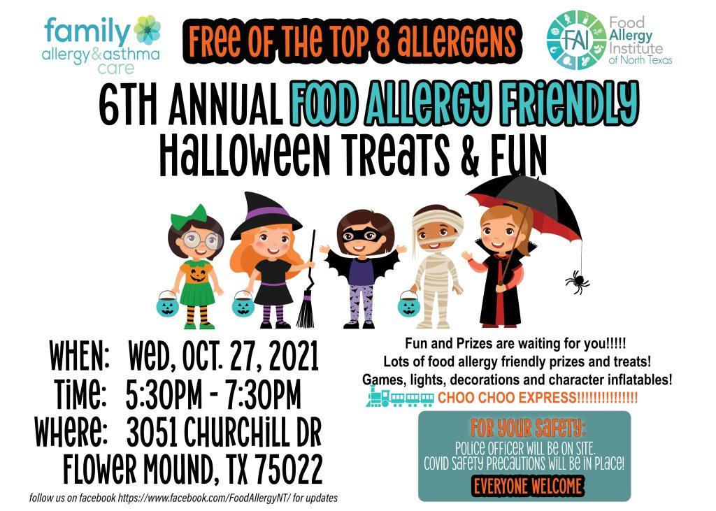 FOOD ALLERGY FRIENDLY HALLOWEEN TREATS & FUN Flower Mound, Texas